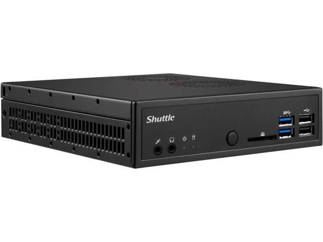 Shuttle DH110SE LGA1151 Intel H110 Black Barebone - Mini / Booksize $99.99