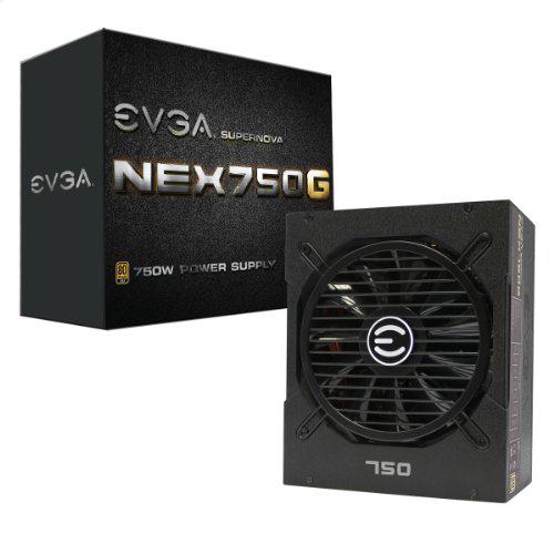 EVGA PSU 80 PLUS GOLD 750 W 10 yr Warranty Fully Modular $59.99 AR