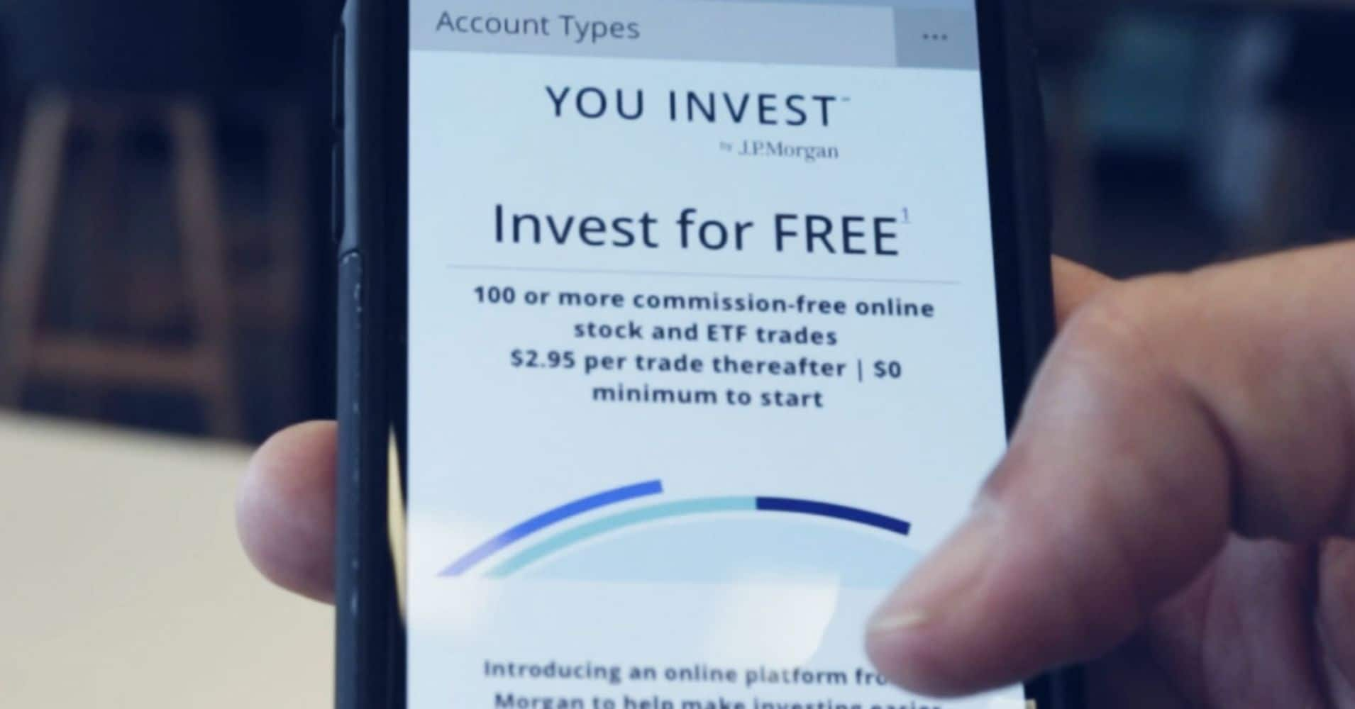 You Invest Trade Account: 100 Online Stock / ETF Trades in 1st Year