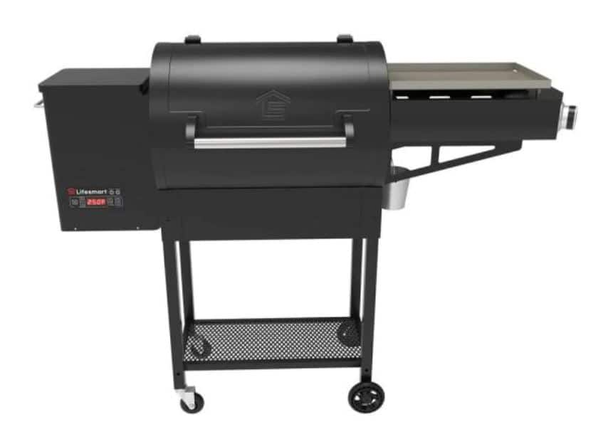 Lifesmart Dual Cook 600 sq. in Pellet Grill / Griddle Combo – 45% Off $499