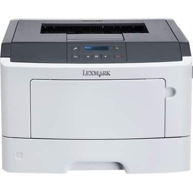 Lexmark MS310 MS312DN Laser Printer - Monochrome - 1200 x 1200 dpi Print - Plain Paper Print - Desktop, White, Gray $88