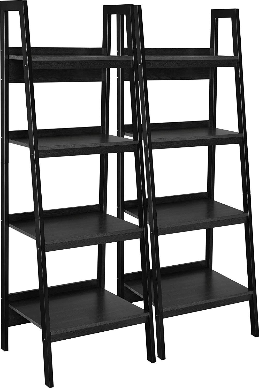 pretty nice 1dfca 489cb Amazon - Ameriwood Home Lawrence 4 Shelf Ladder Bookcase ...