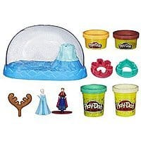 Play-Doh Disney Frozen Sparkle Snow Dome Set with Elsa and Anna  $  10.93 Amazon