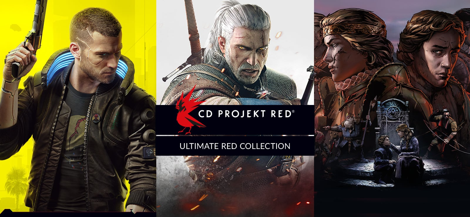Ultimate RED Collection -Cyberpunk & Witcher 1, 2, 3 (PC Digital Download) ~$25 via GOG Russia (VPN required) or $63.12