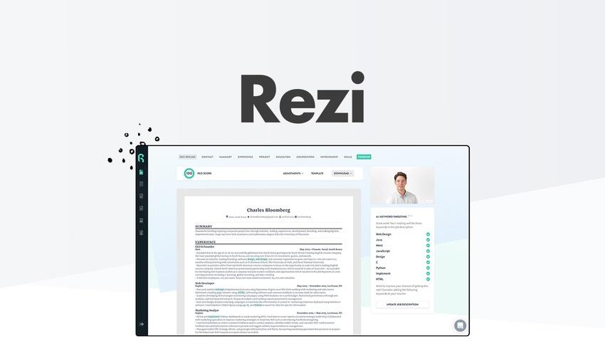 Free Rezi Resume Builder Lifetime Access  (Code LIFETIME-SOS20 ) - Was $348