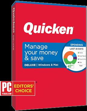Quicken Deluxe 2019 - $29.99