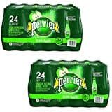 30-Pack of 8.45oz Perrier Lime Flavored Sparkling Mineral Water, 8.45 fl oz. Slim Cans from $11.55 w/ S&S + Free S&H