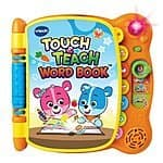 Amazon:  VTech Touch and Teach Word Book for $10.98 + FSSS Shipping over $35