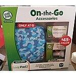 Amazon: Leapfrog Leappad Accessories On-the-go Bundle. Blue Carrying Case, Car Adapter & $15 Digital Download Card for $11.80 w/free shipping for Prime members