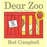 Amazon & Walmart - Dear Zoo: A Lift-the-Flap Board Book (Dear Zoo & Friends) for $3.51