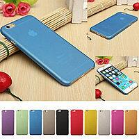 eBay Deal: 0.3mm Ultra Thin Slim Matte Hard Back Case Cover Skin For Apple iPhone 6 for $0.99 + Free Shipping at eBay