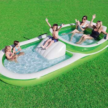 Costco Members- Bestway H2OGO! Family Pool with Slide $29.97 shipped