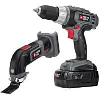 Lowes Deal: PORTER-CABLE 18-Volt Cordless Combo Kit  $49 + Free Store Pickup at Lowes, Also 4 tool kit for $109 YMMV