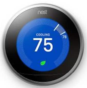 Nest Learning Thermostat 3rd Generation Smart Home