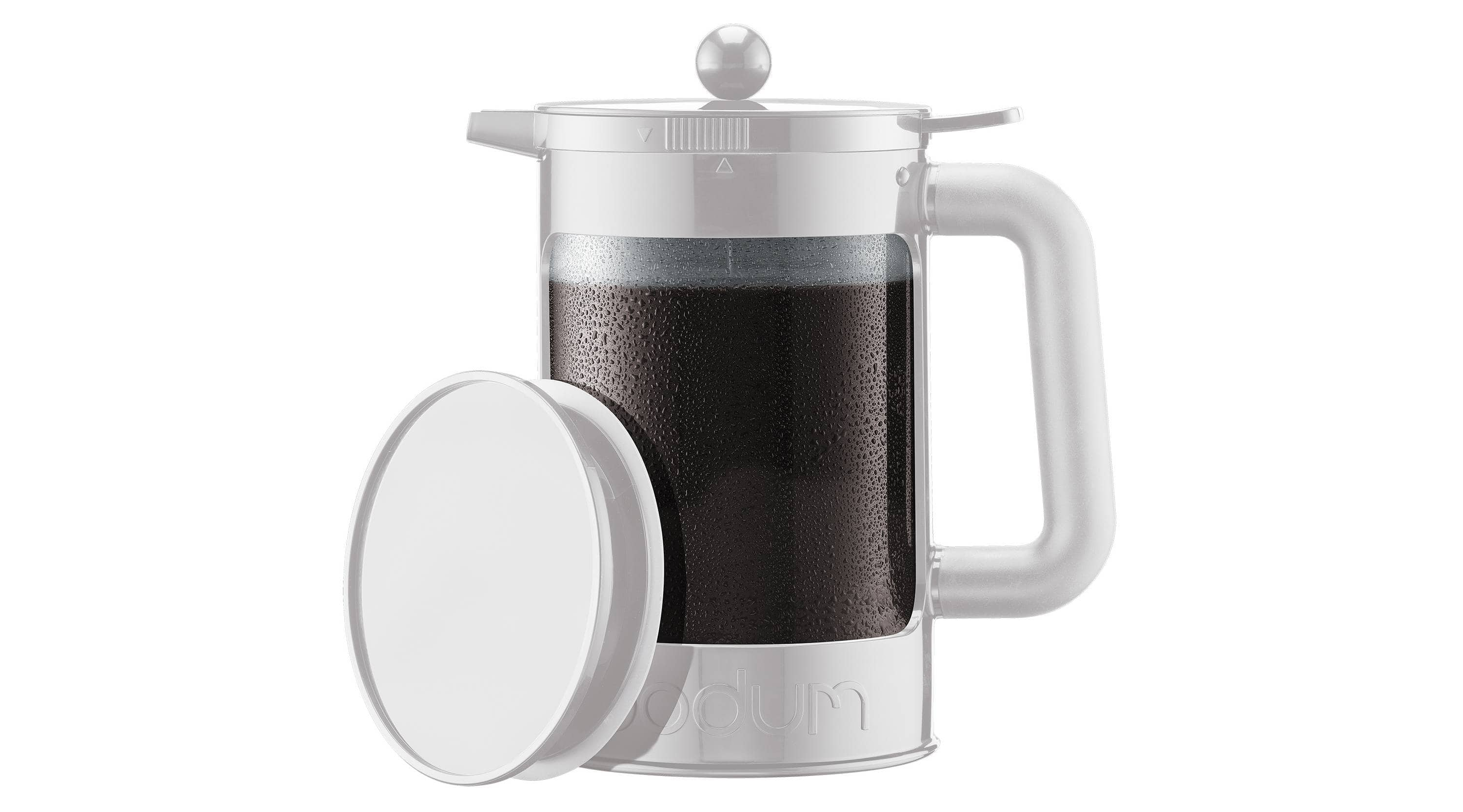 Bodum Bean Cold Brew Coffee Maker 12 Cup 51 oz - White - $13.49 & free shipping!