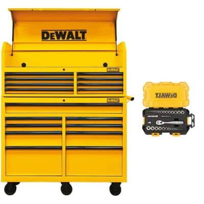 "52"" Dewalt Tool Chest Top and Bottom $200.03 HD Extreme YMMV"