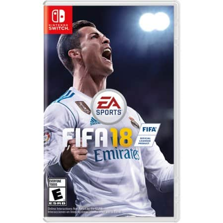 FIFA 18 Standard Edition - Switch Game - Google Express Existing Customers $31.99