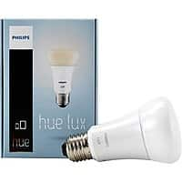 Amazon Deal: Philips 9W A19 Hue LUX LED Personal Wireless Lighting Single Light Bulb - $14.99