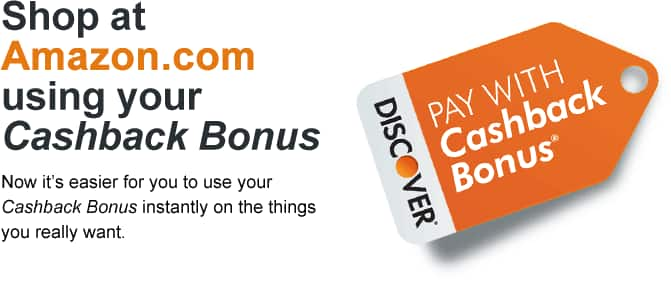 YMMV $10 off Amazon purchase with Discover Cashback