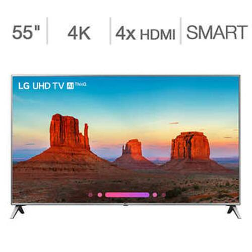 "LG 55UK6500AUA 55"" 4K Ultra HD LED LCD TV online for $299.97 with free shipping at Costco"