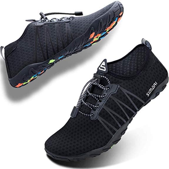 Simari Men's & Women's Quick Dry Water Shoes $10.99 @Amazon