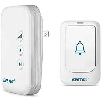 500ft BESTEK Wireless Doorbell Kit $6.99 @Amazon