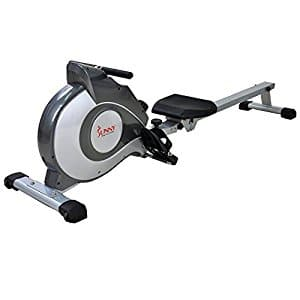 Sunny Health & Fitness SF-RW5515 Magnetic Rowing Machine Rower w/ LCD Monitor $179.99