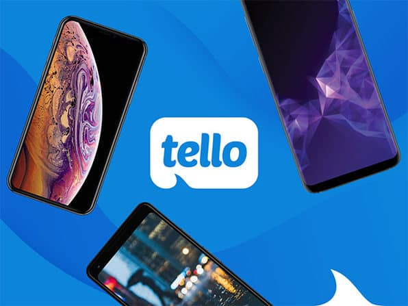6-Month Tello Prepaid Plan: Unlimited Talk/Text + 2GB LTE Data/Month YMMV with Amex Small Business Credit $36.65
