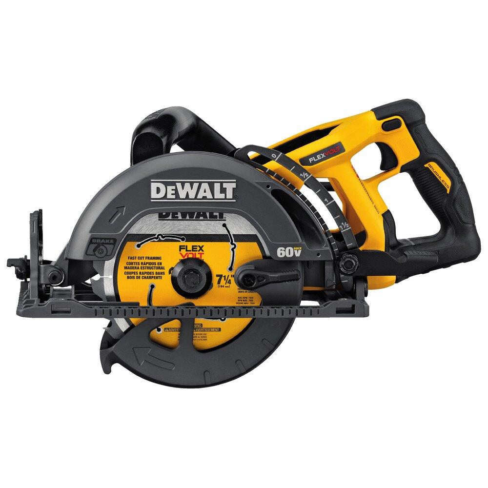 Dewalt dcs577b flexvolt 60v max 7-1/4 in. Worm drive style saw (tool only)  $177.85
