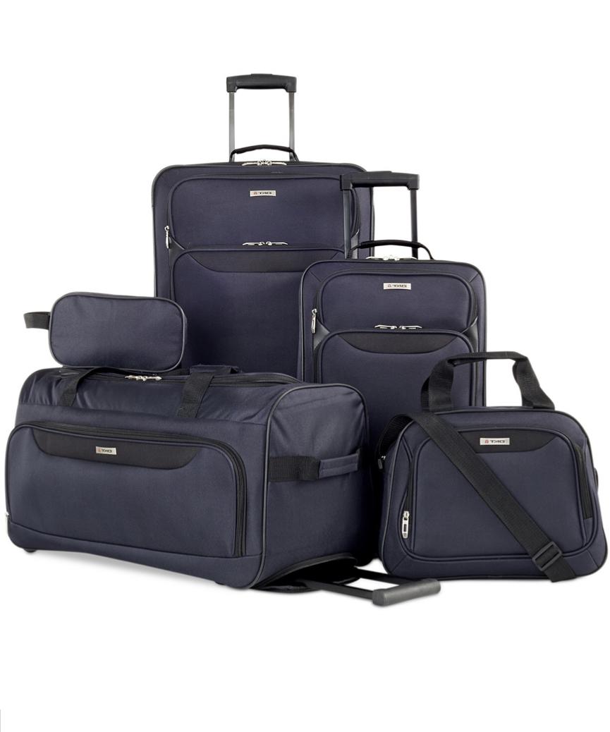 7099d6e67a91 Macy s  Springfield III 5 piece luggage set  59 - Slickdeals.net