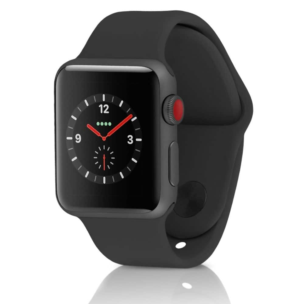quality design 811f7 0ca85 Apple Watch Series 3 Sport 42MM GPS + 4G Cellular LTE Aluminum Space ...