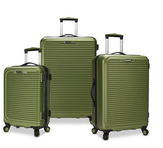 42c71d3fb663 Savannah 3-Pc. Hardside Spinner Luggage Set, Created for Macy's $119 ...