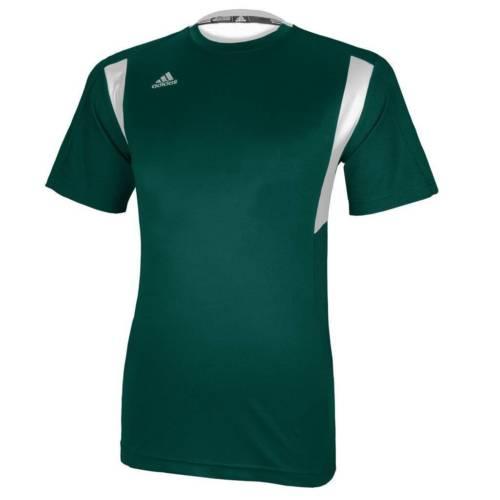 Adidas Men's CLIMALITE Utility Short Sleeve Shirt Athletic Running Team Jersey $11