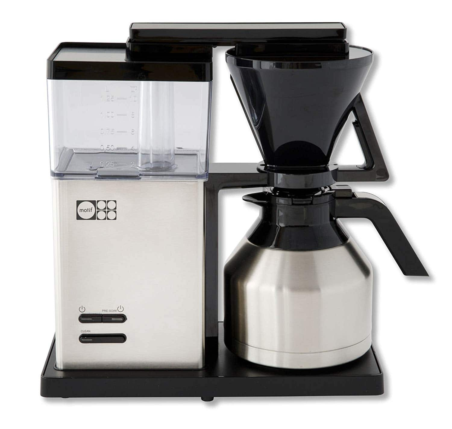Motif Essential Pour Over Coffee Brewer w/ Thermal Carafe $49