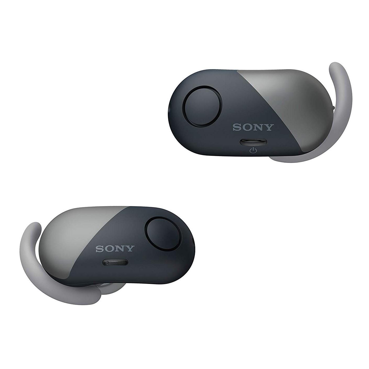 Refurb** Sony Sport True Wireless Noise Canceling Earbud Headphones - Black (Refurbished) $49.95