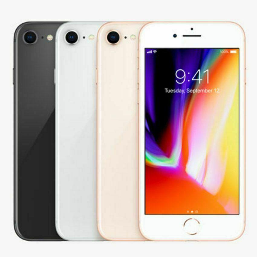 Refurbished Apple iphone 8 plus 64gb gsm unlocked for ATT/T-Mobile $313