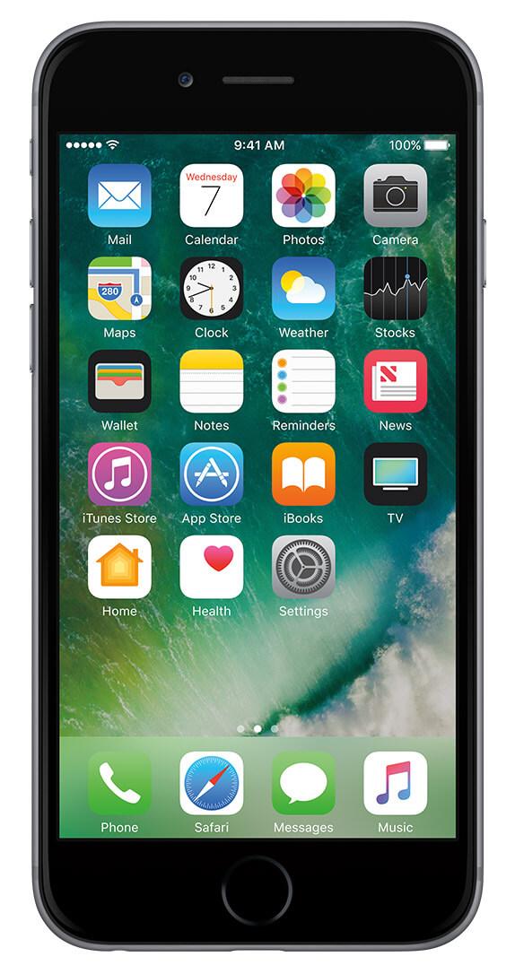 Cricket Wireless Apple iPhone 6 32GB Prepaid $199 ( require 1 month service)
