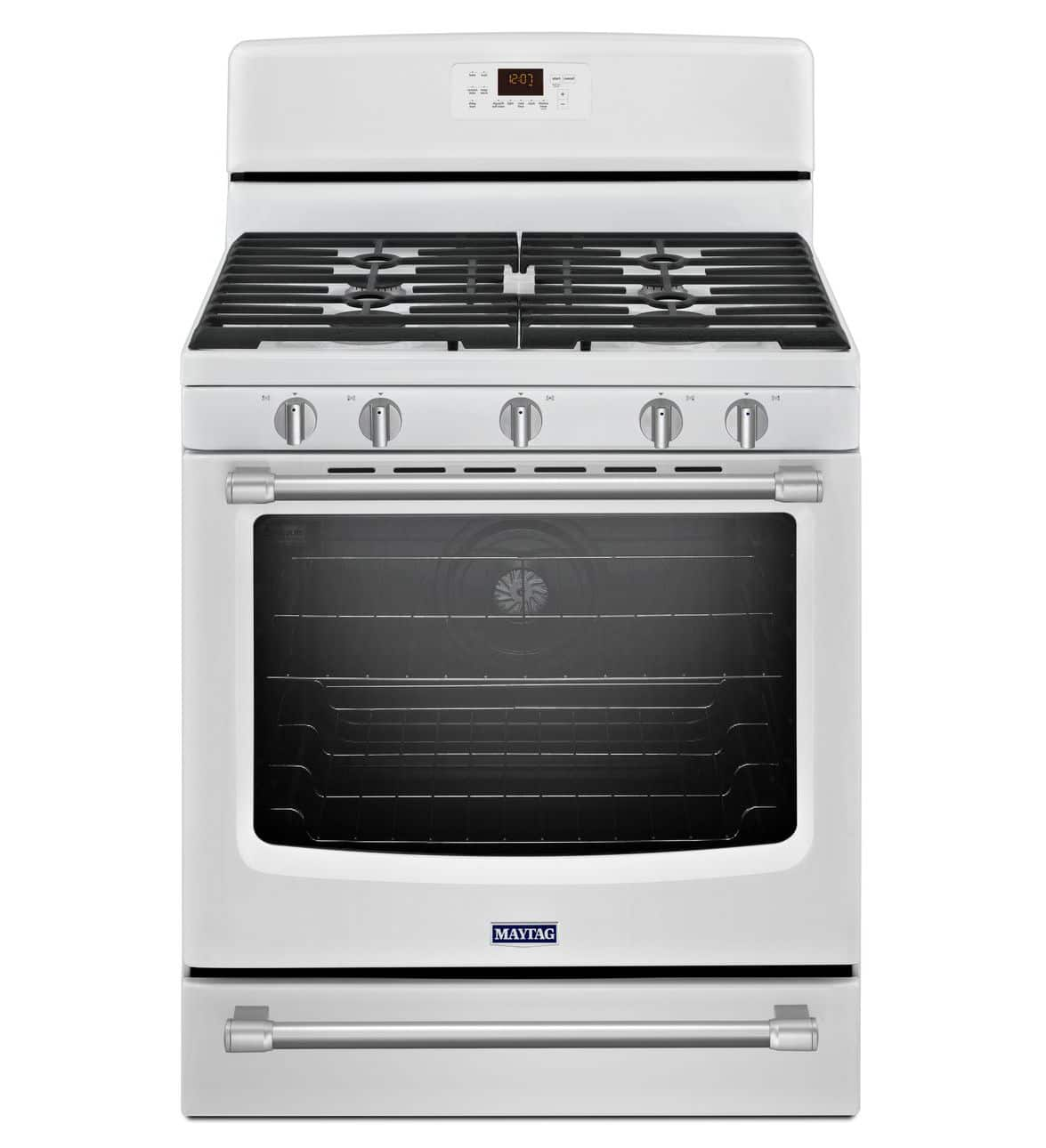 A couple of gas ranges with convection ovens starting at $599w/free ship (Whirlpool Stainless/Black was $899).