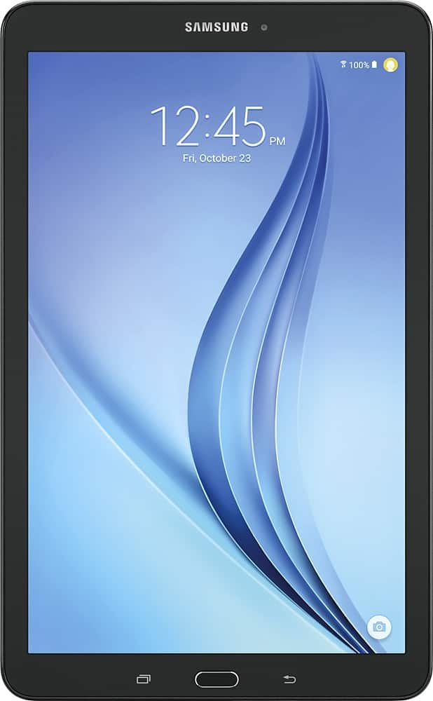 "Samsung - Galaxy Tab E - 9.6"" - 16GB - Black $150"