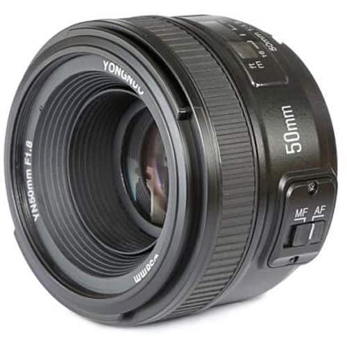 Yongnuo YN 50mm f/1.8 Lens for Nikon F, $63 or less after 10off with Google Pay