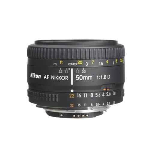 Nikon Nikkor 50mm f1.8D lens on eBay for $85 with PRESDAY code