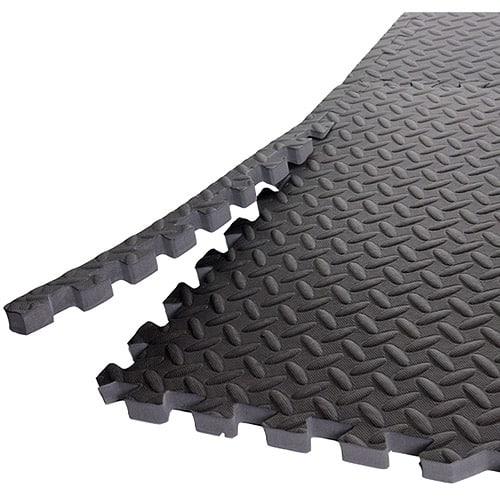 "Gold's Gym High Impact Flooring (Six 24"" Pieces) for $18+FS on 35 or $15 + free store pickup @walmart"