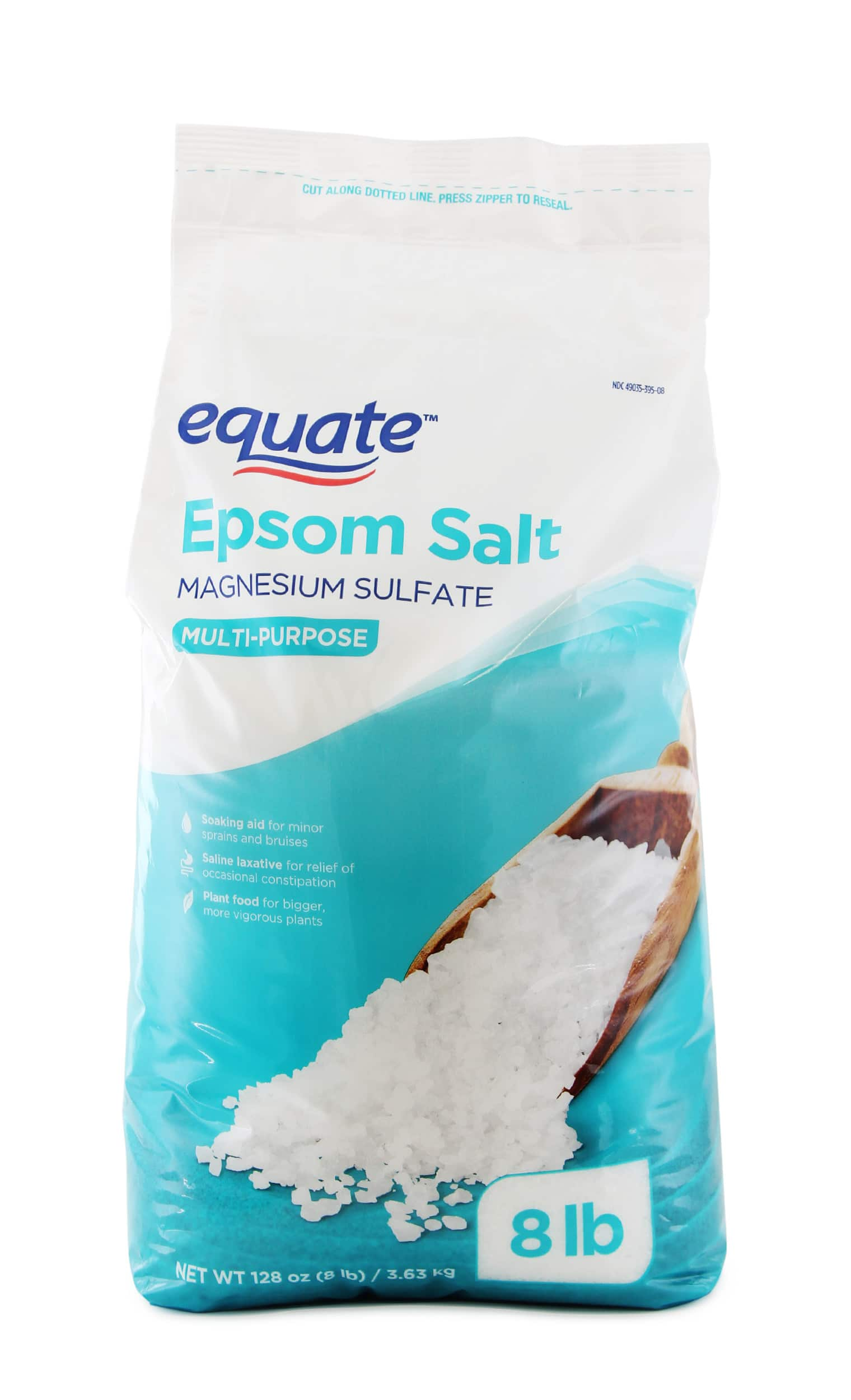 Epsom Salt 8lb for $5; Alaska Fish Plant Fertilizer 32oz for $5.86