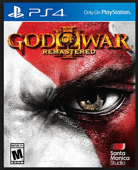 God of War 3 PS4 on PlayStation Store $7.99