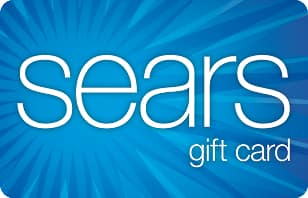 $75 Sears Gift Card for $63.75 (15% OFF)