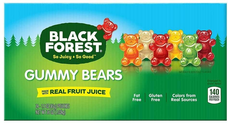 Black Forest Gummy Bears Candy, 6 lb $8.82