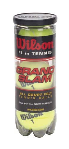 Wilson Tennis Balls WRT1043 3-Pack Grand Slam Tennis Balls $1.92