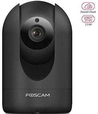 R2 Full HD 1080P Foscam Home Security Camera (Black) $49.29