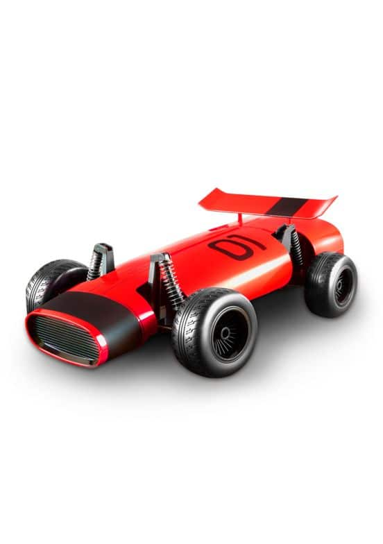 FAO Schwarz Toy RC Classic Racer - Black/Red  $20