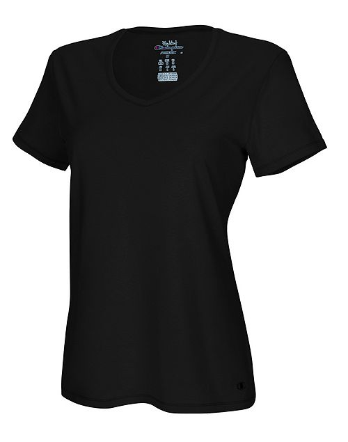 Champion Authentic Women's Jersey V-Neck Tee  $3.59